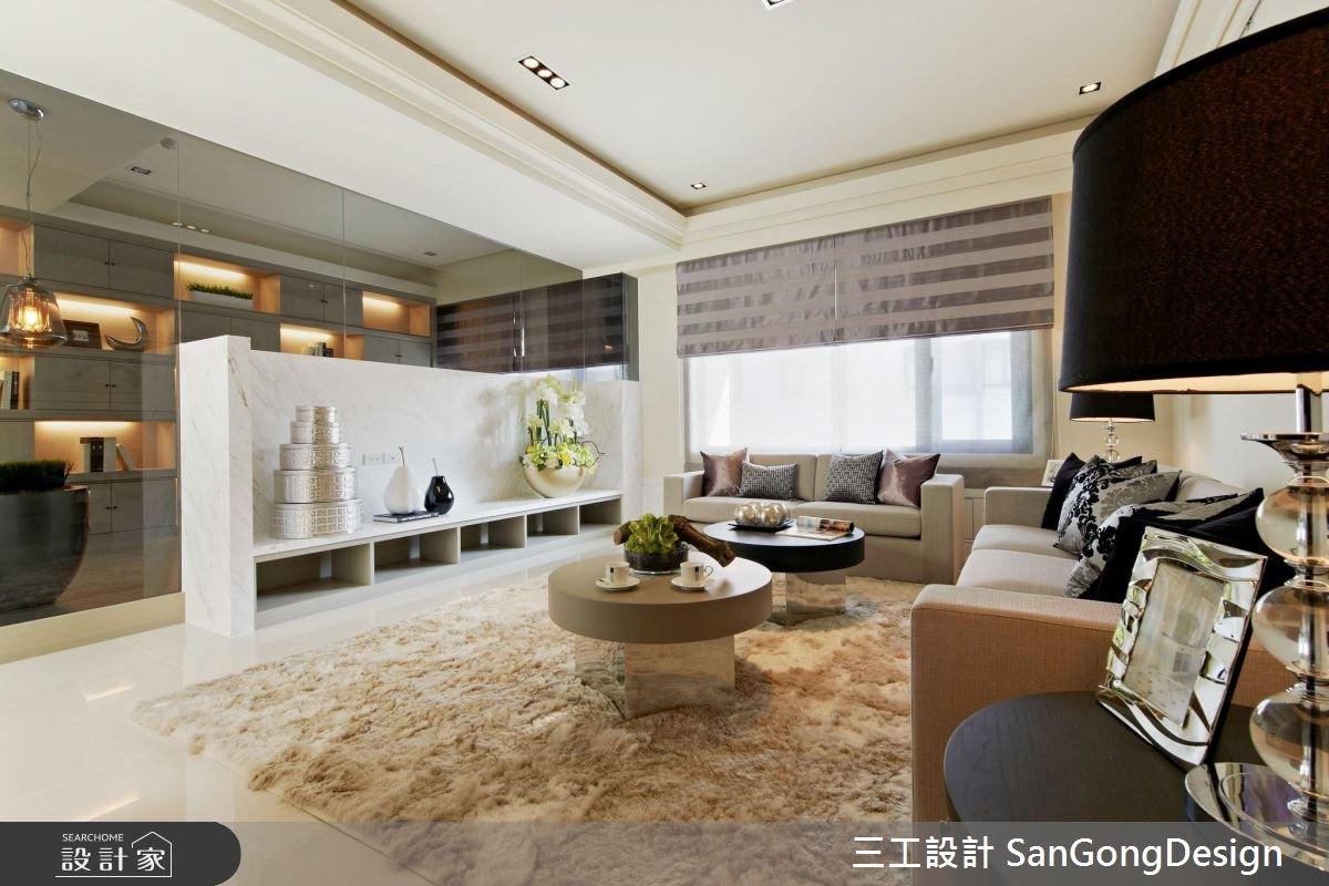 40坪新成屋(5年以下)_混搭風客廳案例圖片_三工設計 SanGongDesign_三工_04之2