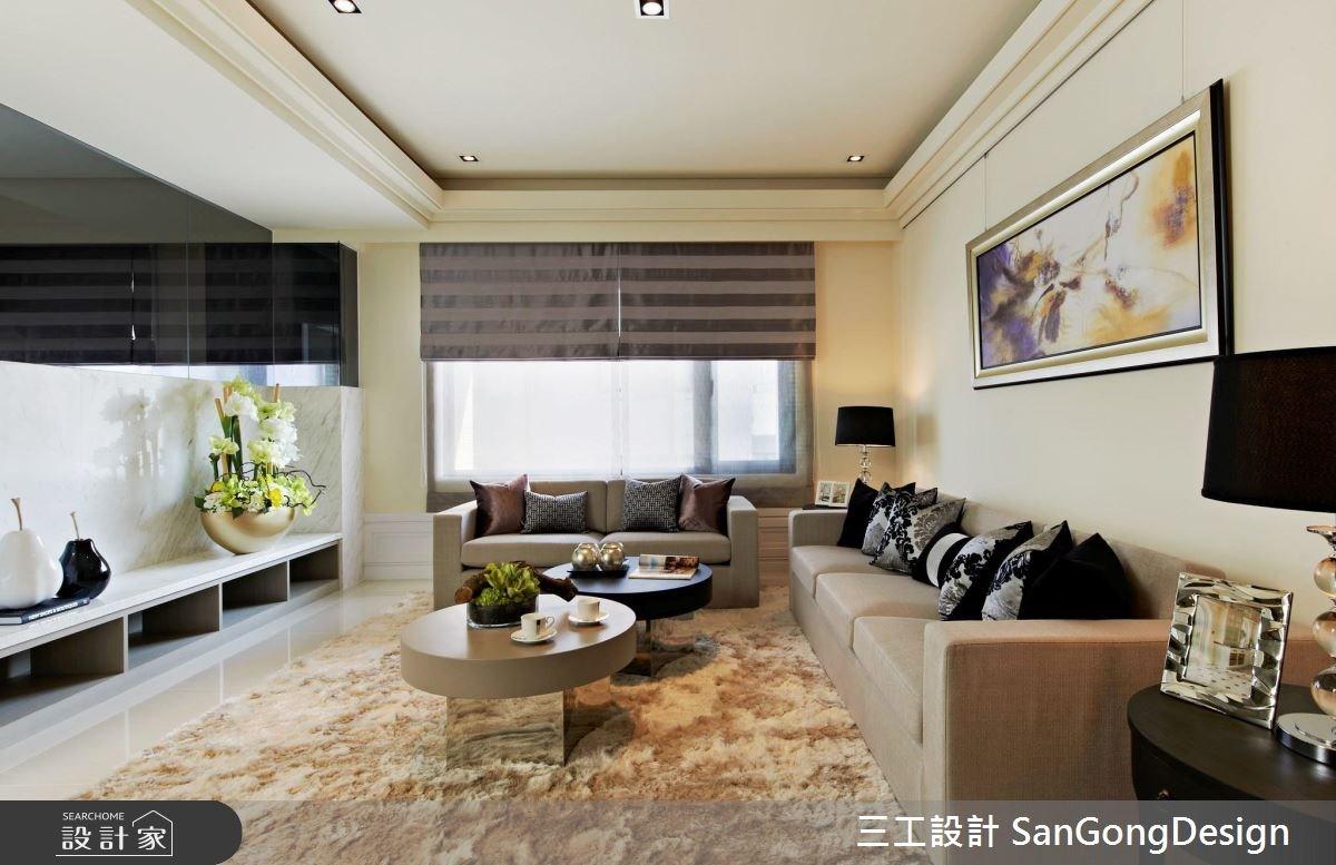 40坪新成屋(5年以下)_混搭風客廳案例圖片_三工設計 SanGongDesign_三工_04之3