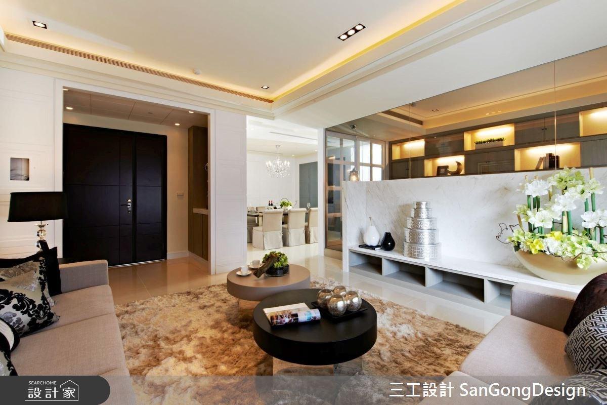 40坪新成屋(5年以下)_混搭風客廳案例圖片_三工設計 SanGongDesign_三工_04之4