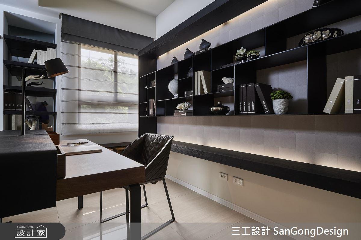 40坪新成屋(5年以下)_混搭風工作區案例圖片_三工設計 SanGongDesign_三工_07之12