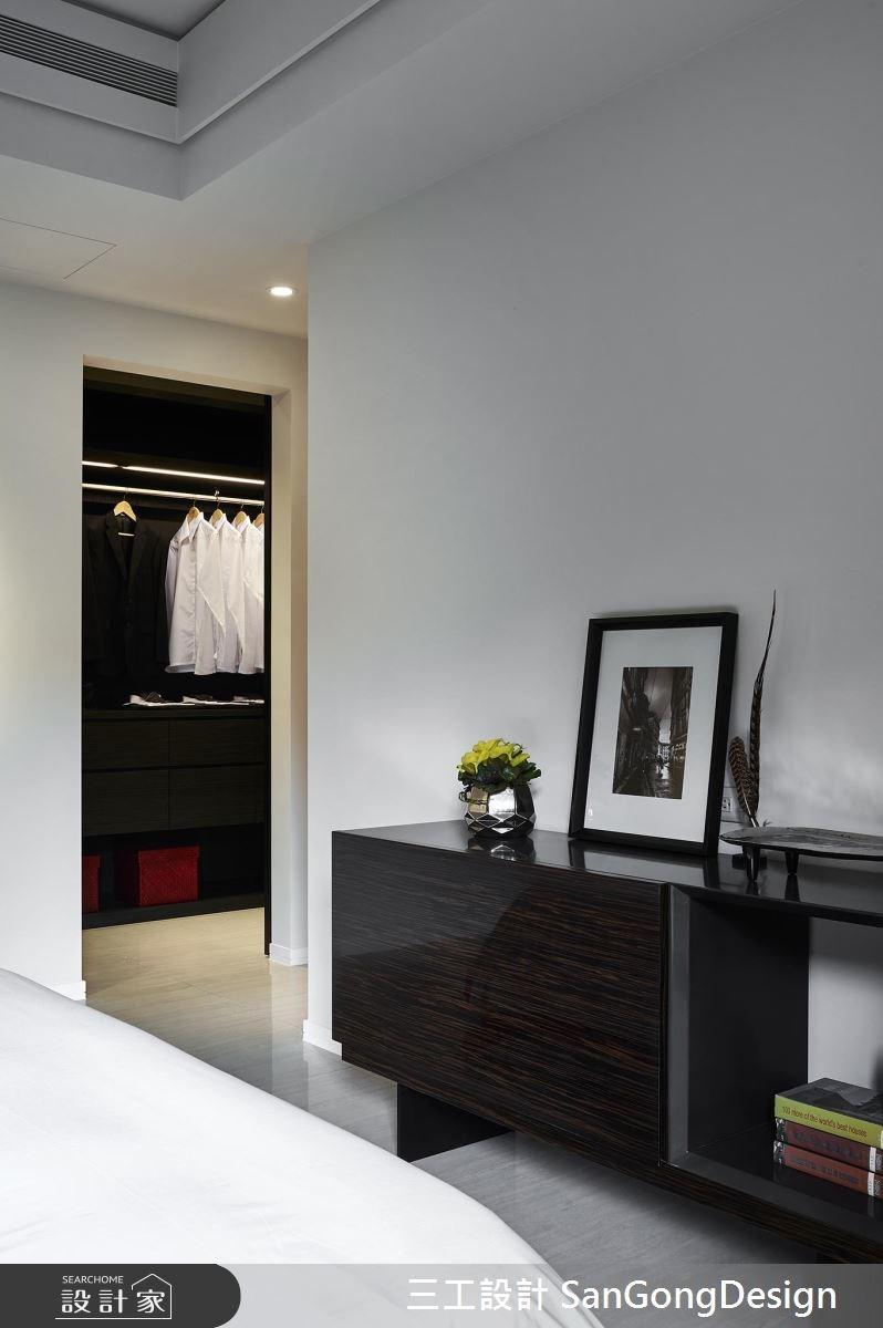 40坪新成屋(5年以下)_混搭風臥室更衣間案例圖片_三工設計 SanGongDesign_三工_07之15