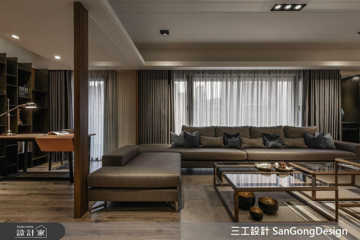 50坪新成屋(5年以下)_混搭風客廳案例圖片_三工設計 SanGongDesign_三工_08之2