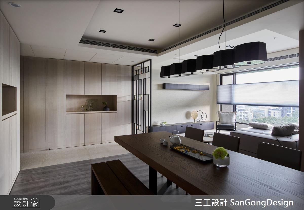 40坪新成屋(5年以下)_混搭風客廳餐廳案例圖片_三工設計 SanGongDesign_三工_09之2