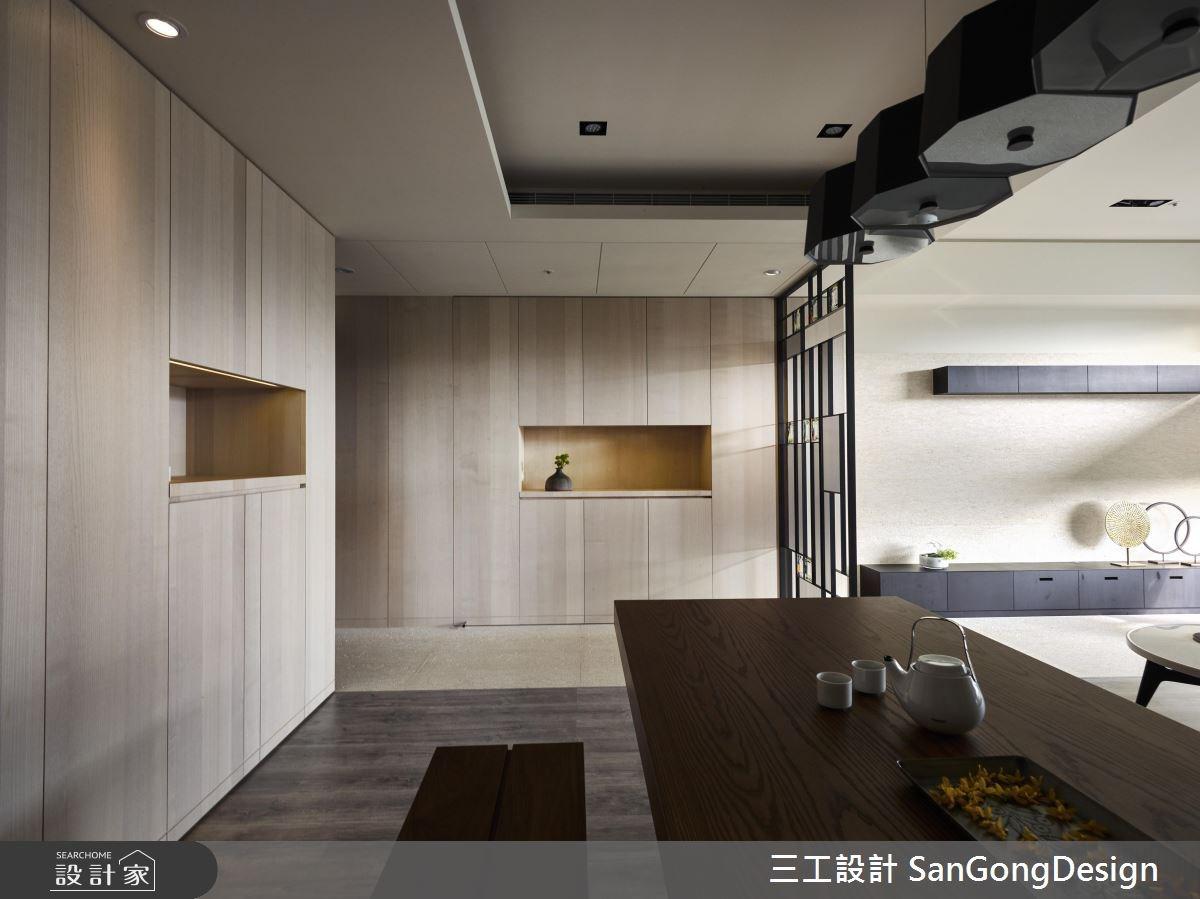 40坪新成屋(5年以下)_混搭風餐廳廚房案例圖片_三工設計 SanGongDesign_三工_09之3