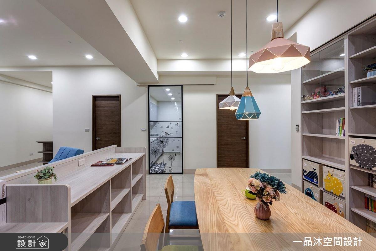 50坪新成屋(5年以下)_簡約風餐廳案例圖片_一品沐空間設計_一品沐_01之25