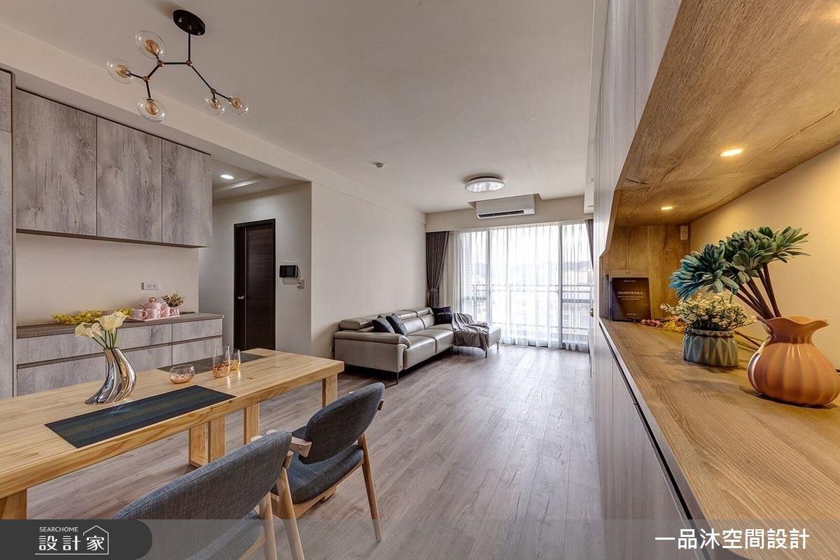 27坪新成屋(5年以下)_簡約風餐廳案例圖片_一品沐空間設計_一品沐_04之3
