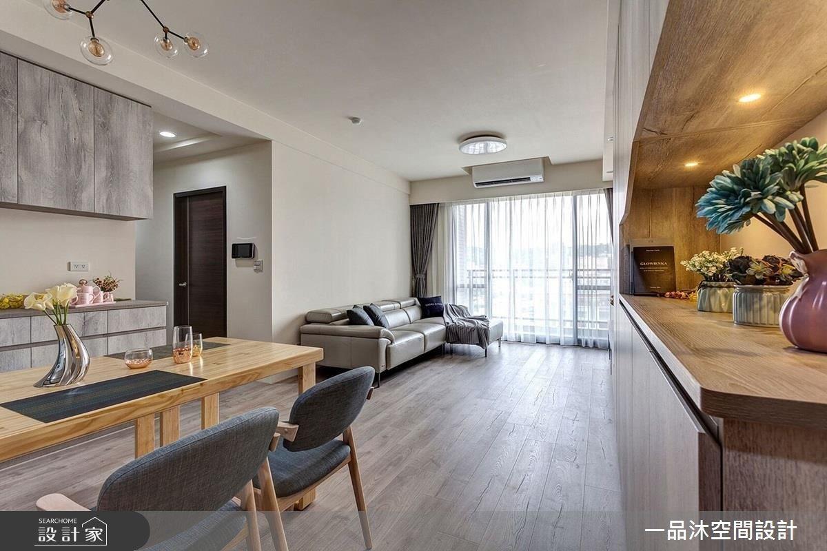 27坪新成屋(5年以下)_簡約風餐廳案例圖片_一品沐空間設計_一品沐_04之4