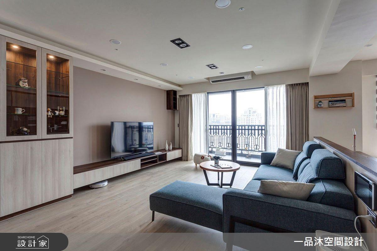 40坪新成屋(5年以下)_簡約風案例圖片_一品沐空間設計_一品沐_07之3