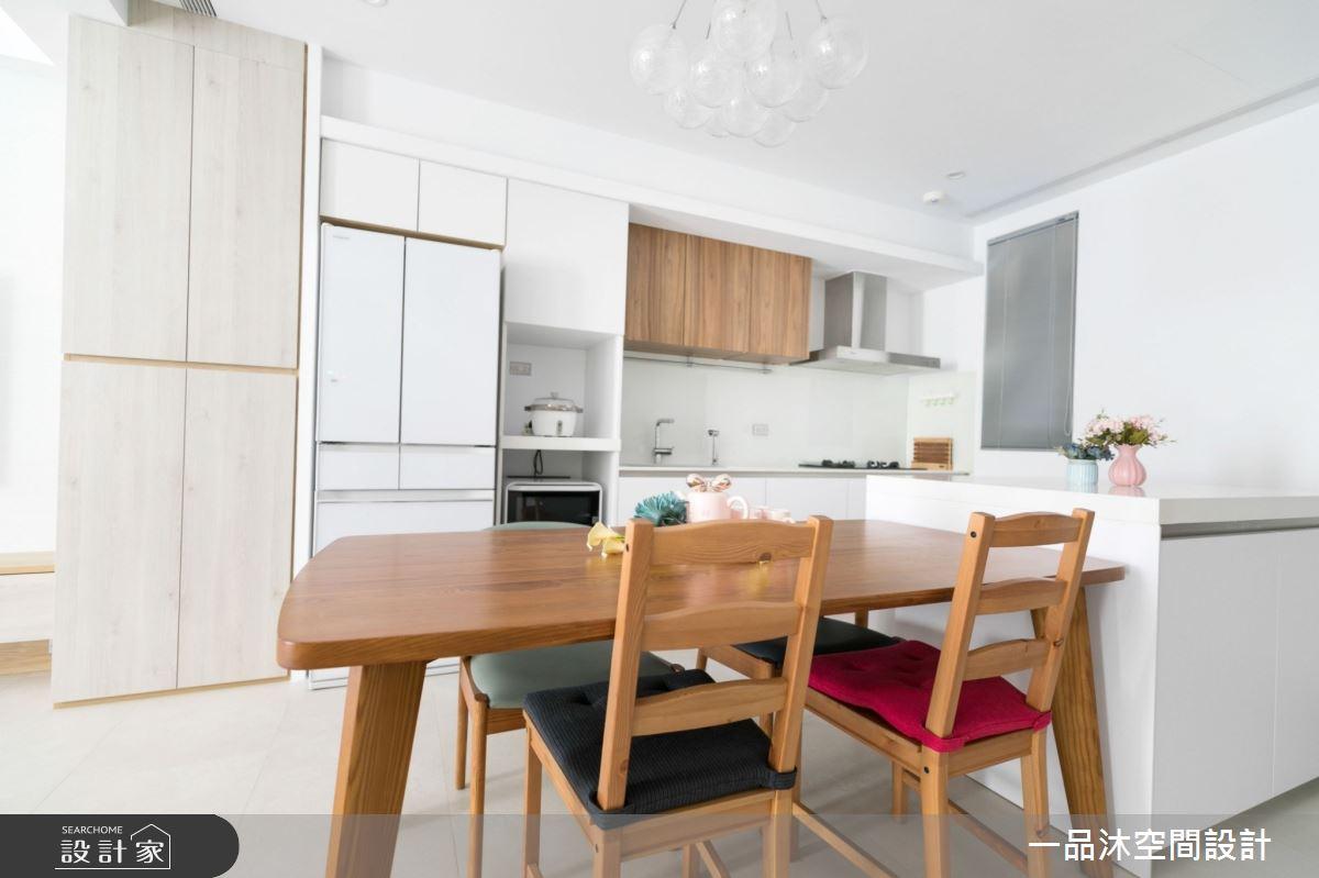 96坪新成屋(5年以下)_日式無印風餐廳案例圖片_一品沐空間設計_一品沐_13之4