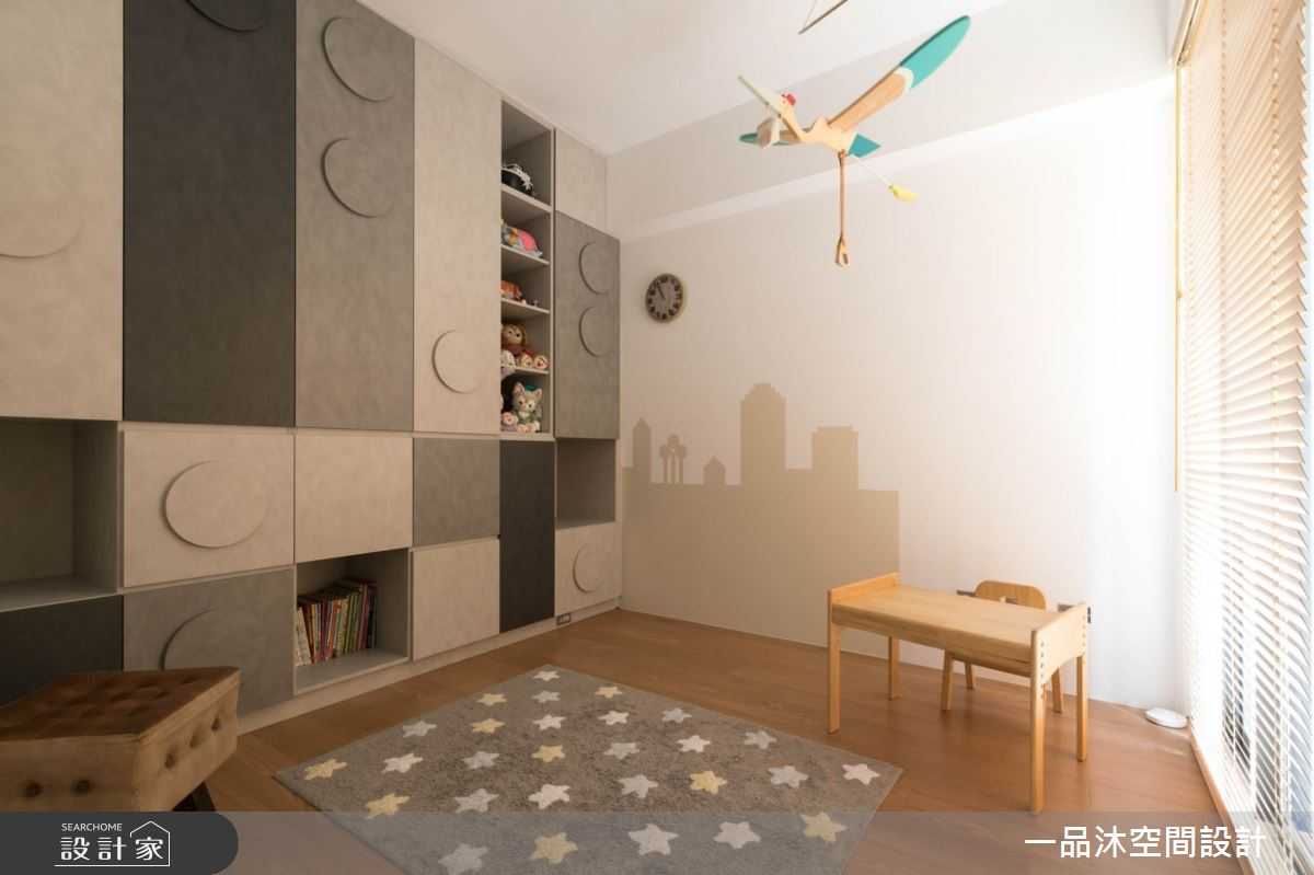 96坪新成屋(5年以下)_日式無印風多功能室案例圖片_一品沐空間設計_一品沐_13之9