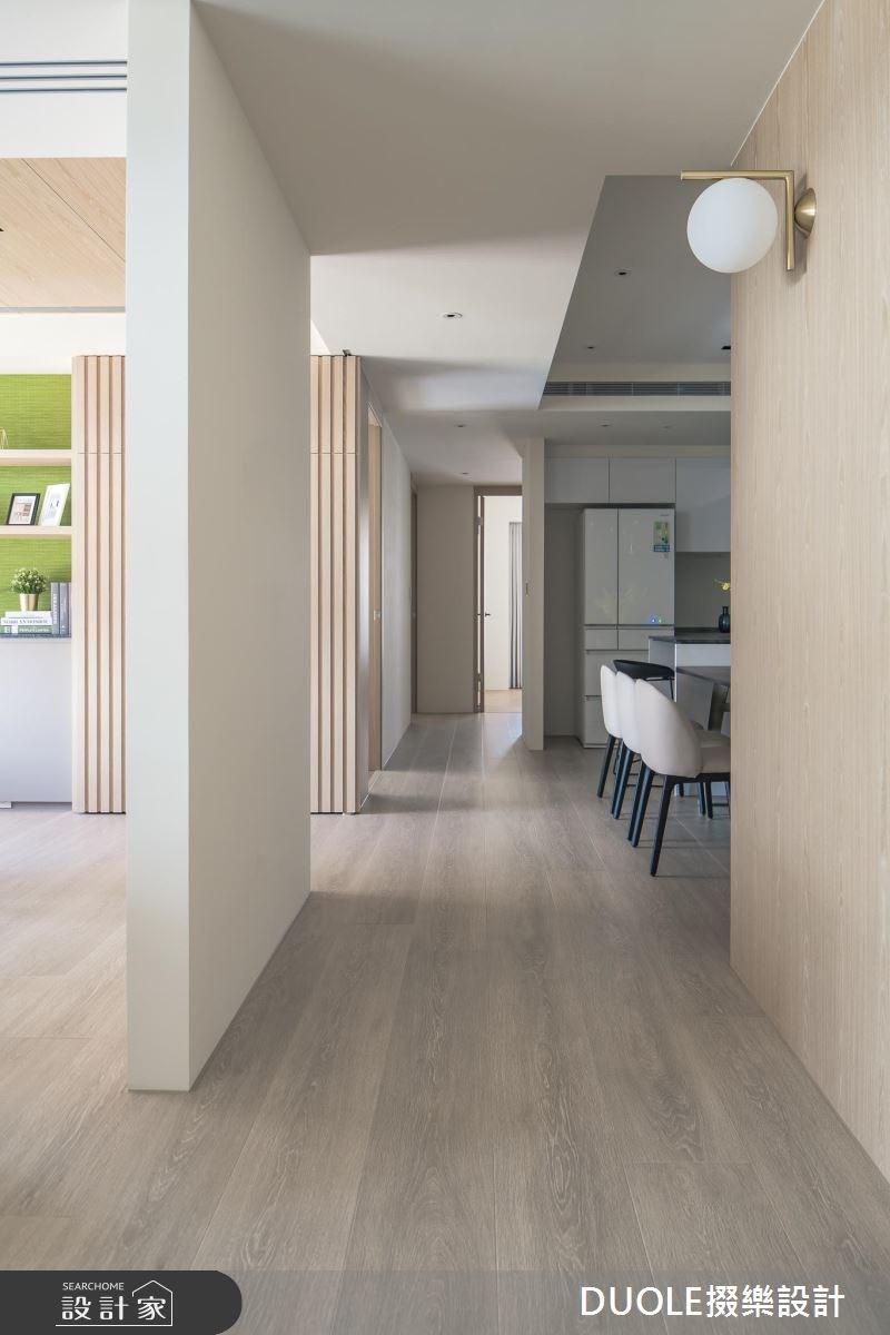 41坪新成屋(5年以下)_現代風餐廳走廊案例圖片_DUOLE掇樂設計_掇樂_04之3