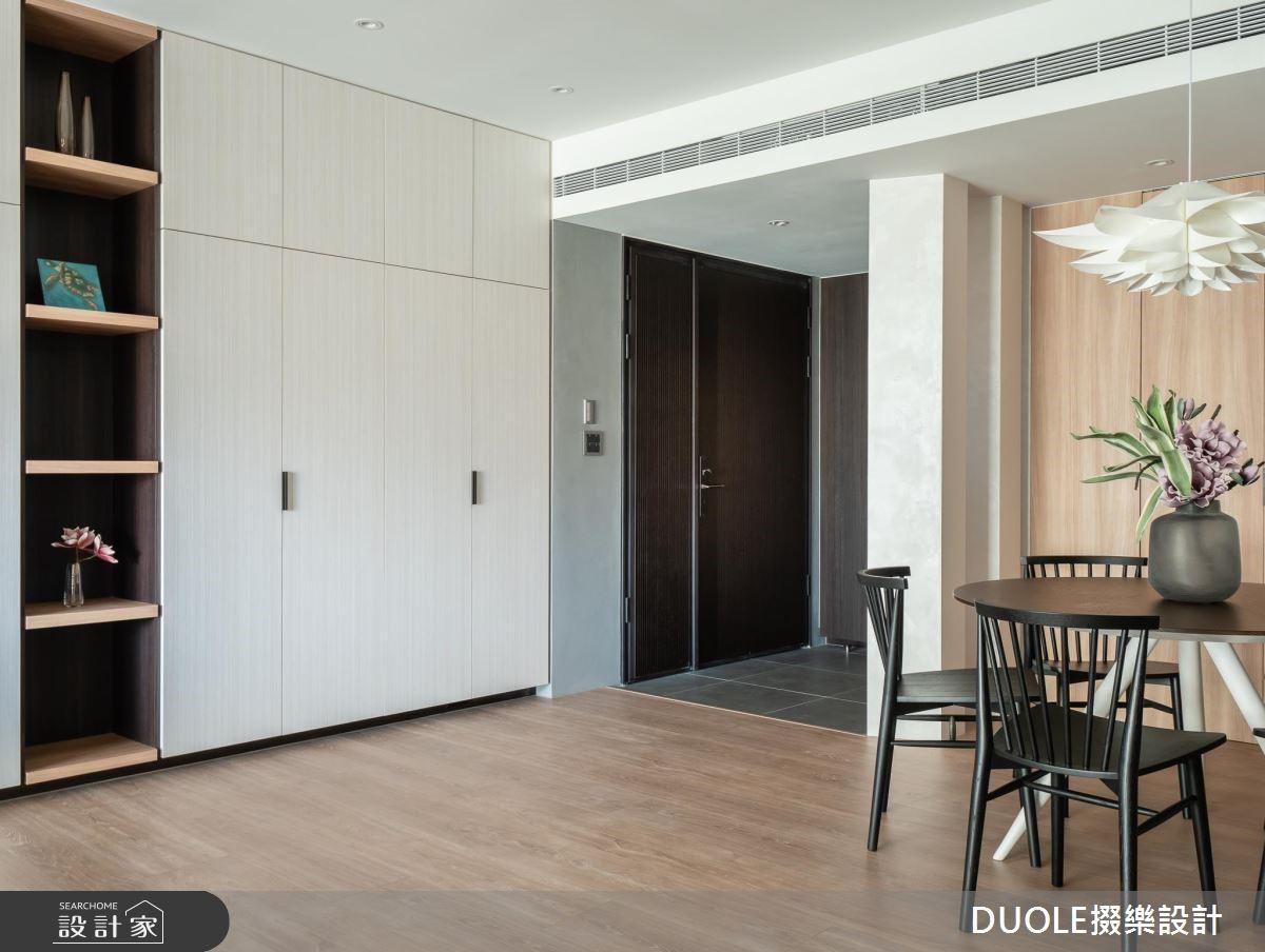 35坪新成屋(5年以下)_現代風玄關案例圖片_DUOLE掇樂設計_掇樂_06之2