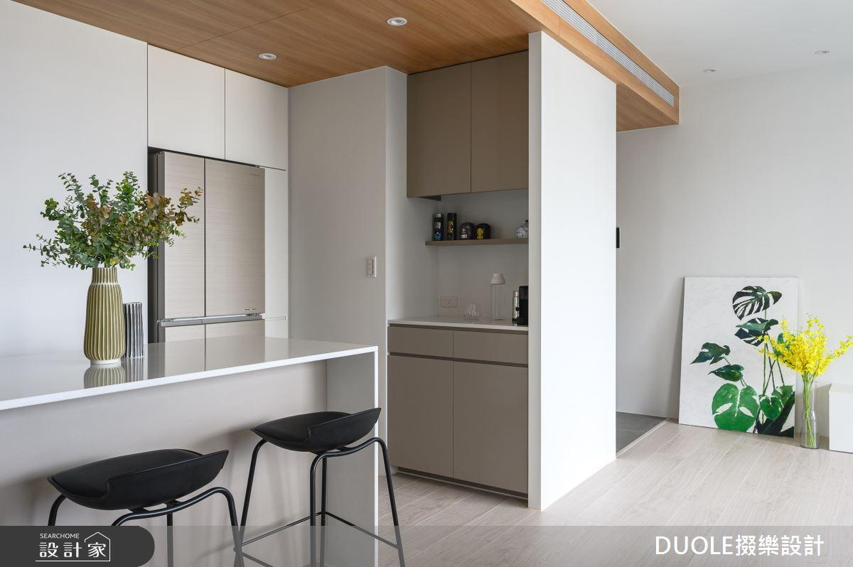 25坪新成屋(5年以下)_北歐風吧檯案例圖片_DUOLE掇樂設計_掇樂_08之3