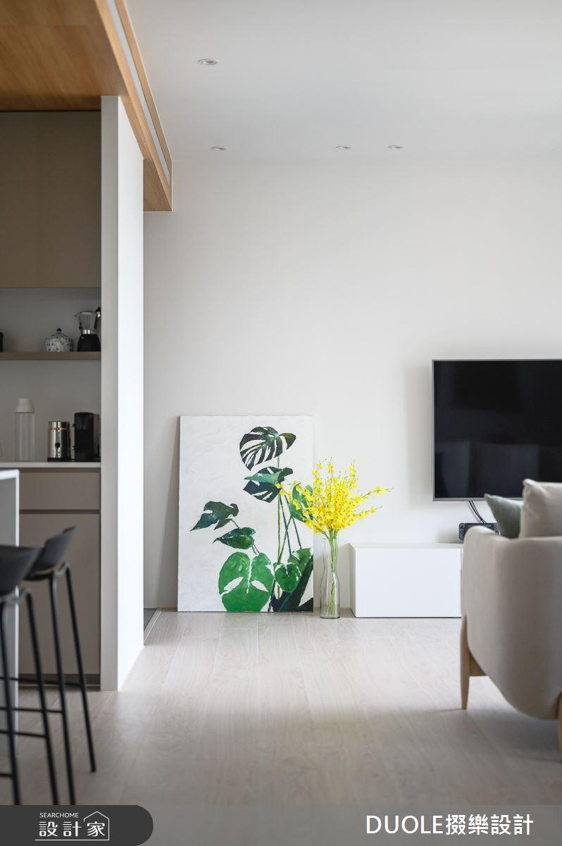 25坪新成屋(5年以下)_北歐風客廳案例圖片_DUOLE掇樂設計_掇樂_08之5