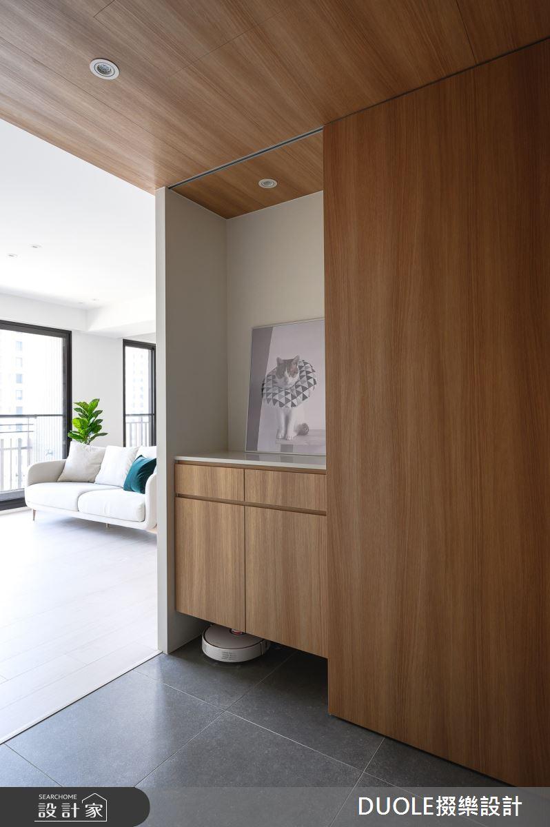 25坪新成屋(5年以下)_北歐風玄關案例圖片_DUOLE掇樂設計_掇樂_08之2