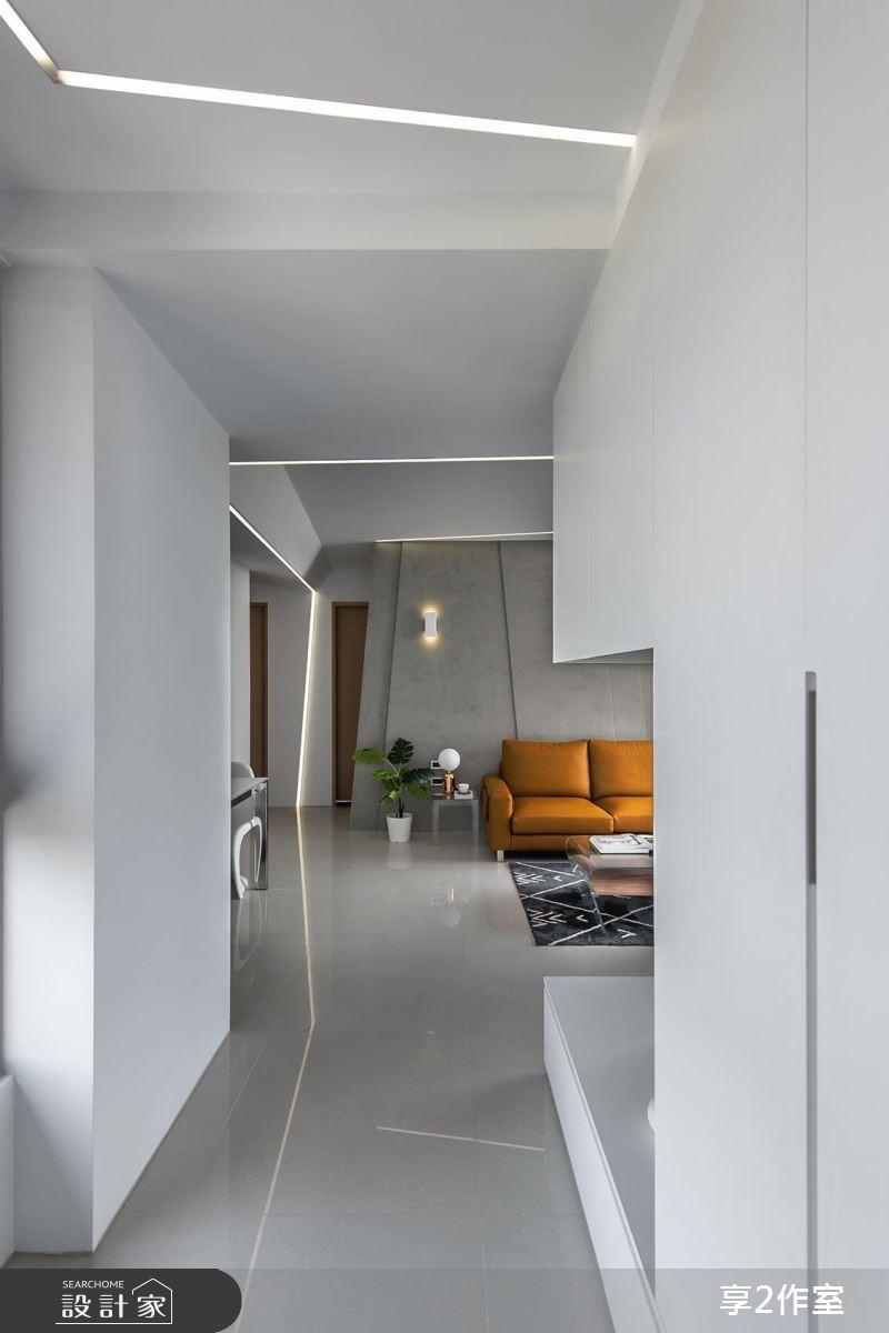 20坪新成屋(5年以下)_現代風玄關案例圖片_享享室內設計_享享_02之1