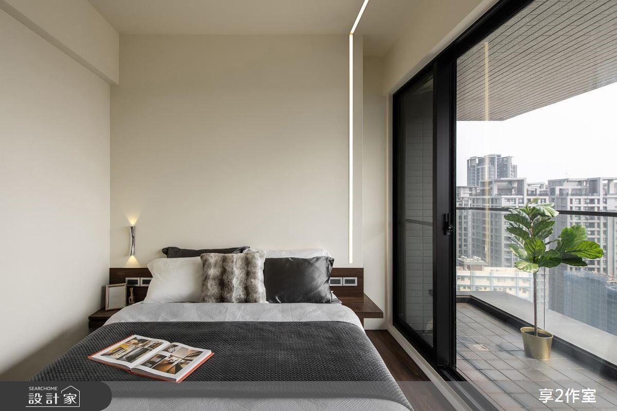 20坪新成屋(5年以下)_現代風臥室案例圖片_享享室內設計_享享_02之8