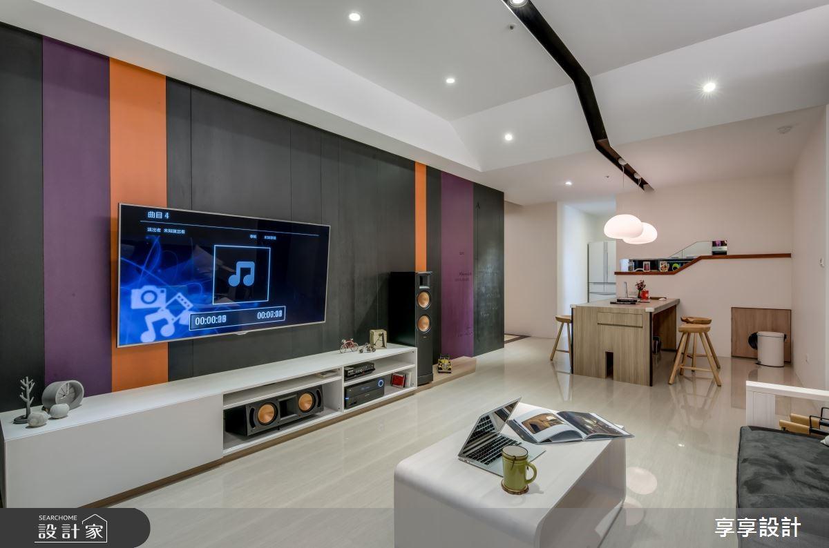 22坪新成屋(5年以下)_現代風案例圖片_享享室內設計_享享_03之4