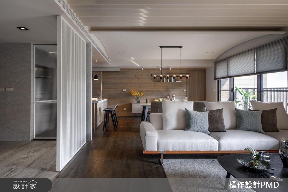 50坪新成屋(5年以下)_現代風客廳餐廳吧檯案例圖片_樸作設計有限公司/PMD_樸作_11之4