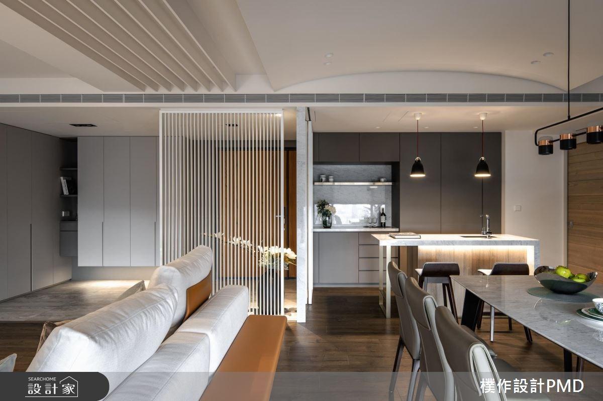 50坪新成屋(5年以下)_現代風客廳廚房吧檯案例圖片_樸作設計有限公司/PMD_樸作_11之6