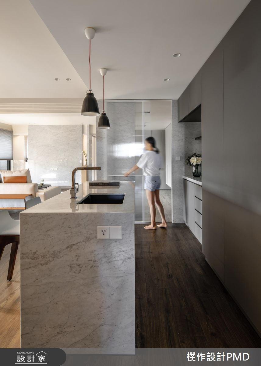 50坪新成屋(5年以下)_現代風廚房吧檯案例圖片_樸作設計有限公司/PMD_樸作_11之11