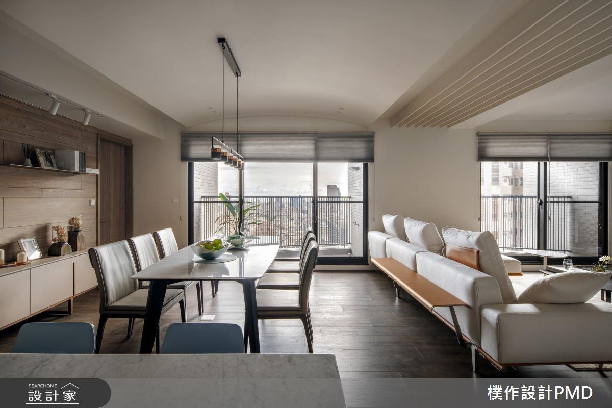 50坪新成屋(5年以下)_現代風客廳餐廳案例圖片_樸作設計有限公司/PMD_樸作_11之12