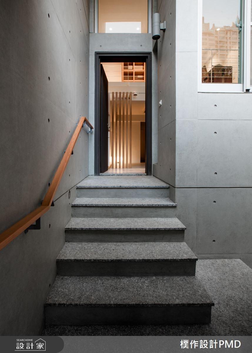 70坪老屋(16~30年)_簡約風樓梯案例圖片_樸作設計有限公司/PMD_樸作_03之4