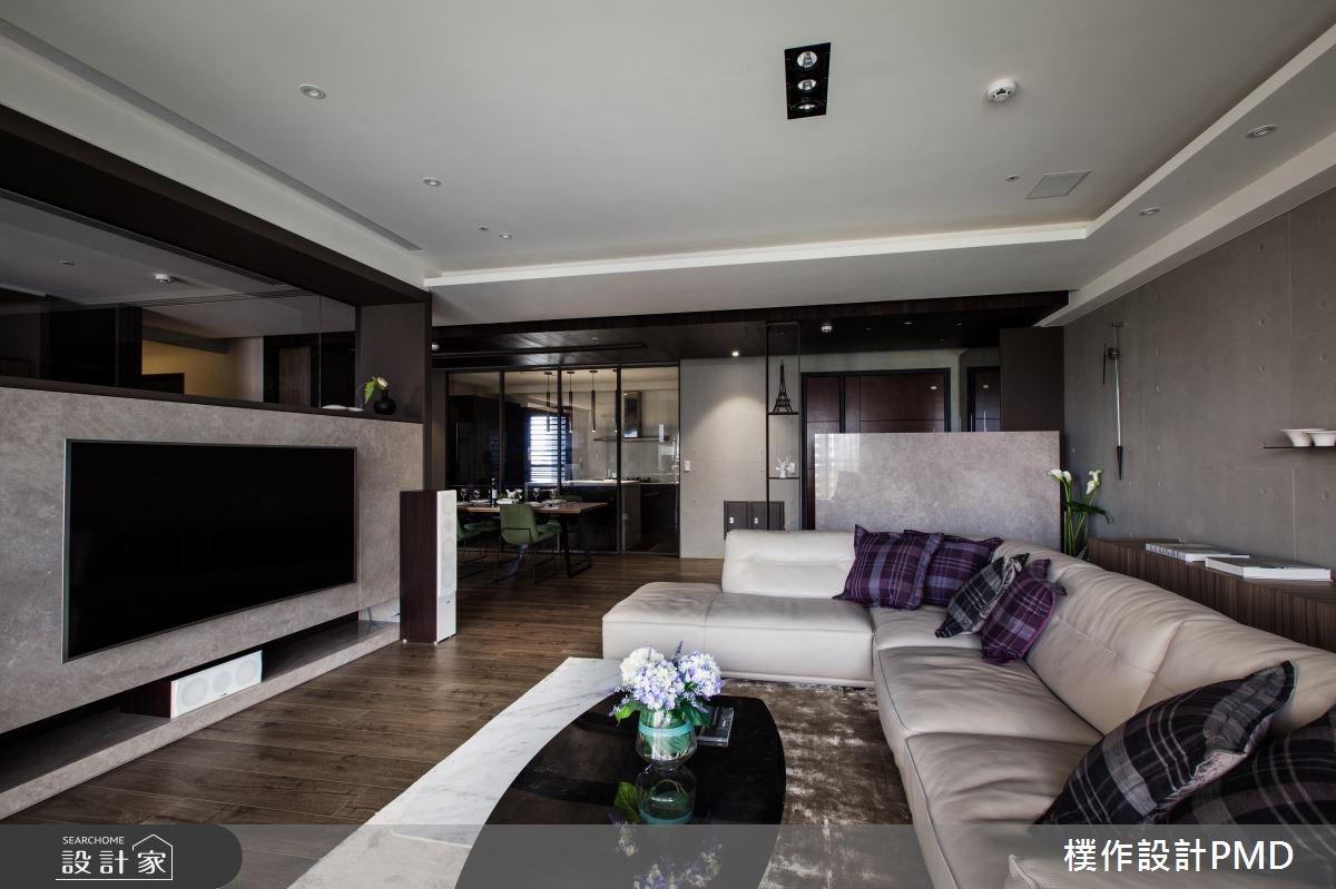 60坪新成屋(5年以下)_混搭風客廳餐廳案例圖片_樸作設計有限公司/PMD_樸作_06之4