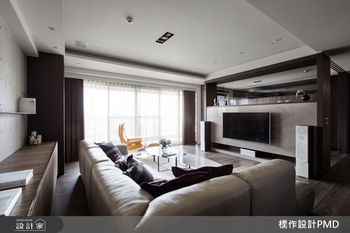 60坪新成屋(5年以下)_混搭風客廳案例圖片_樸作設計有限公司/PMD_樸作_06之9