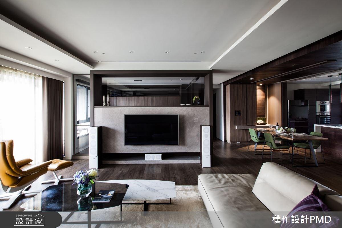 60坪新成屋(5年以下)_混搭風客廳餐廳案例圖片_樸作設計有限公司/PMD_樸作_06之10