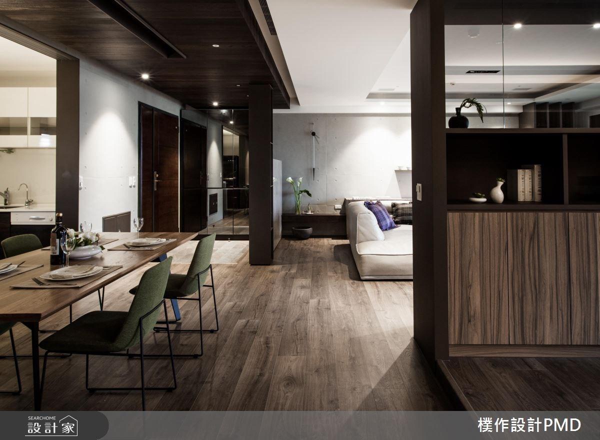 60坪新成屋(5年以下)_混搭風玄關客廳餐廳案例圖片_樸作設計有限公司/PMD_樸作_06之14