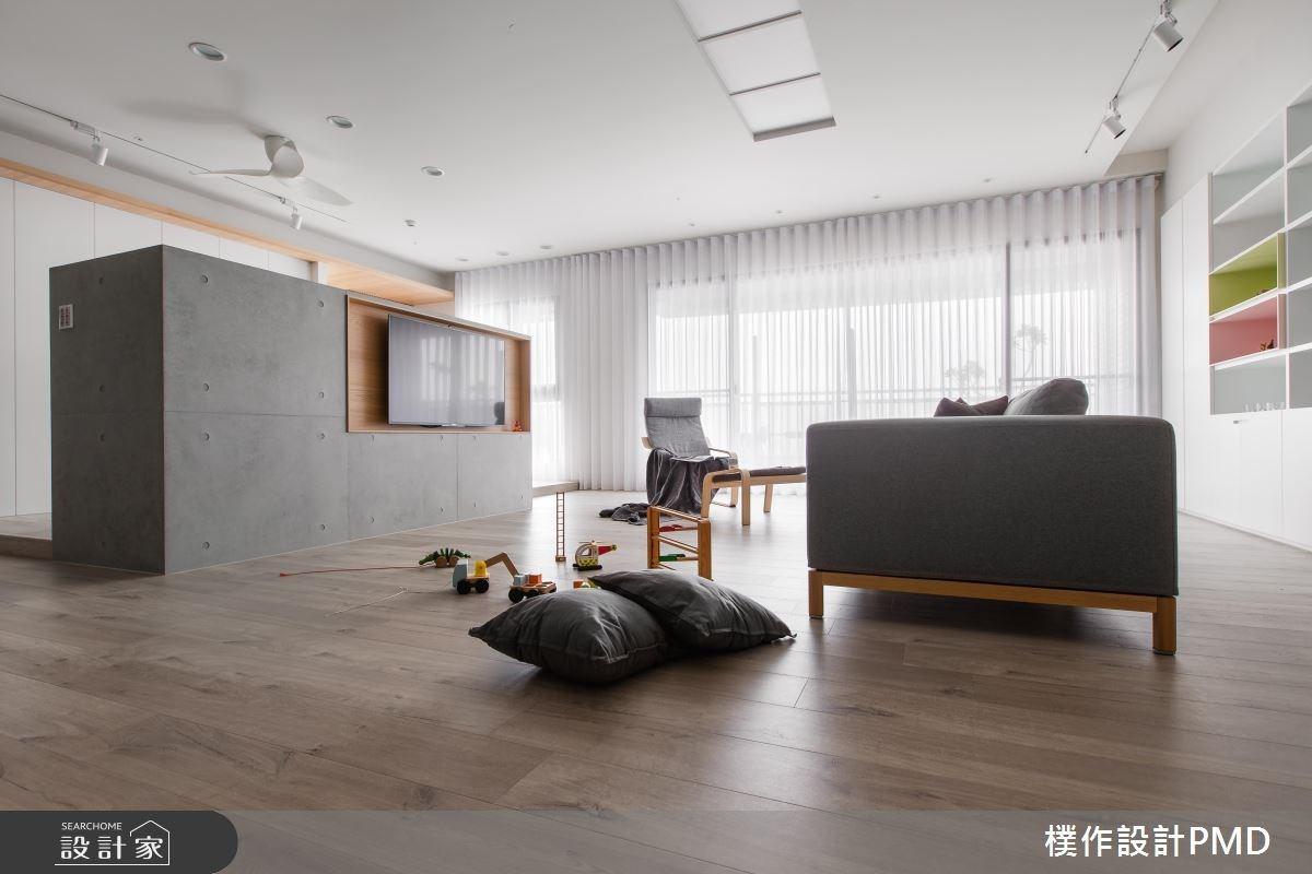 85坪新成屋(5年以下)_休閒風客廳案例圖片_樸作設計有限公司/PMD_樸作_10之2
