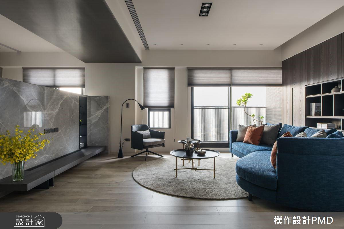 60坪預售屋_現代風客廳案例圖片_樸作設計有限公司/PMD_樸作_12之4