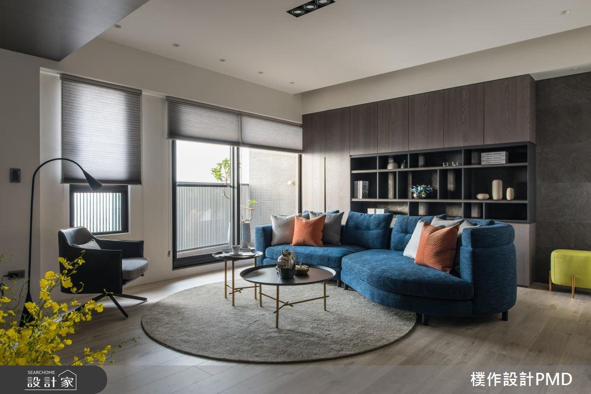60坪預售屋_現代風客廳案例圖片_樸作設計有限公司/PMD_樸作_12之3