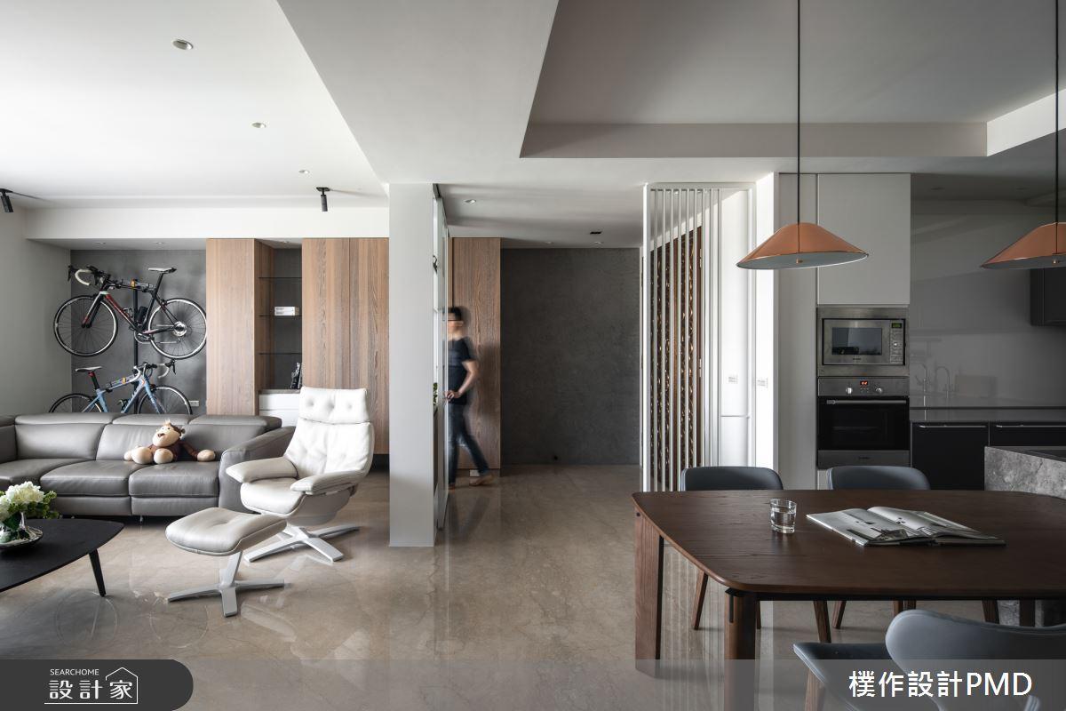44坪新成屋(5年以下)_現代簡約客廳案例圖片_樸作設計有限公司/PMD_樸作_15之2