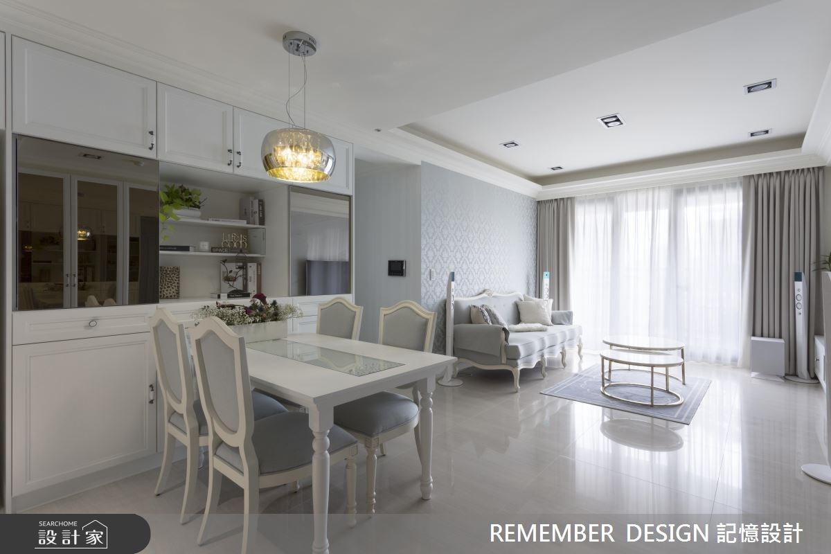 28坪新成屋(5年以下)_新古典餐廳案例圖片_記憶設計_記憶_03之2