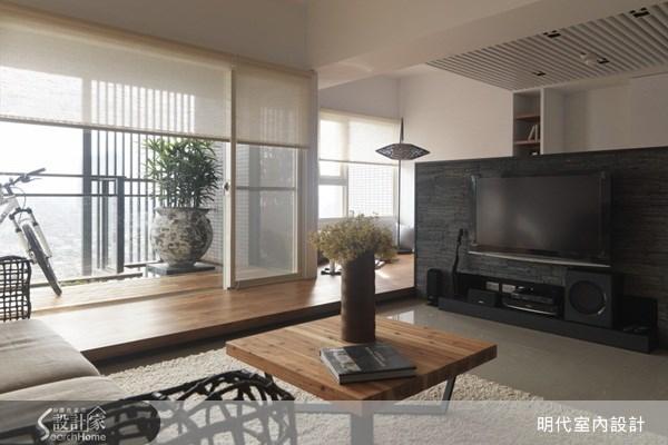 45坪預售屋_北歐風客廳案例圖片_明代室內裝修設計有限公司_明代_01之3