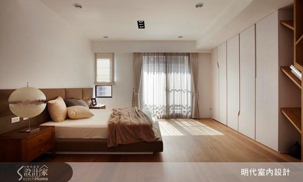 80坪新成屋(5年以下)_現代風臥室案例圖片_明代室內裝修設計有限公司_明代_02之32