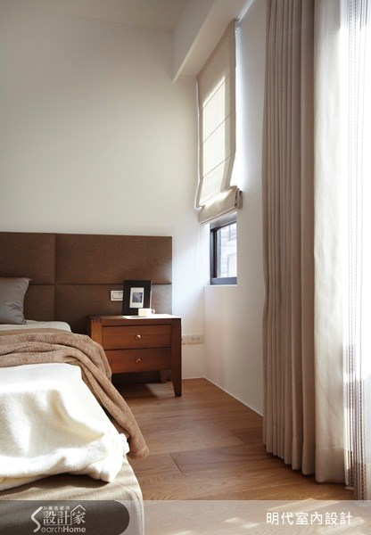 80坪新成屋(5年以下)_現代風臥室案例圖片_明代室內裝修設計有限公司_明代_02之34