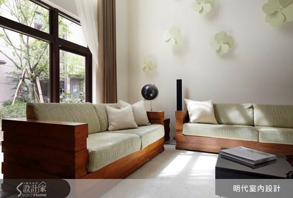 80坪新成屋(5年以下)_現代風客廳案例圖片_明代室內裝修設計有限公司_明代_02之2
