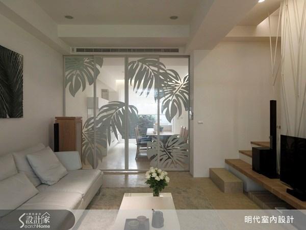 70坪新成屋(5年以下)_休閒風客廳案例圖片_明代室內裝修設計有限公司_明代_03之3