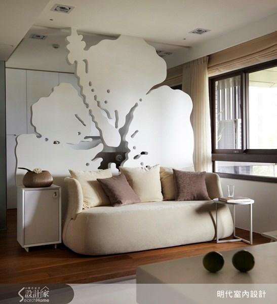 18坪預售屋_混搭風客廳案例圖片_明代室內裝修設計有限公司_明代_04之2