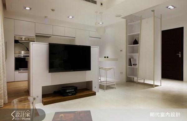 18坪預售屋_混搭風客廳案例圖片_明代室內裝修設計有限公司_明代_04之3