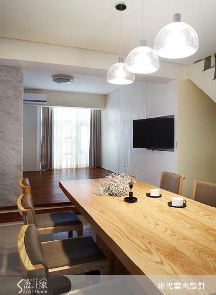 70坪新成屋(5年以下)_休閒風餐廳案例圖片_明代室內裝修設計有限公司_明代_06之4