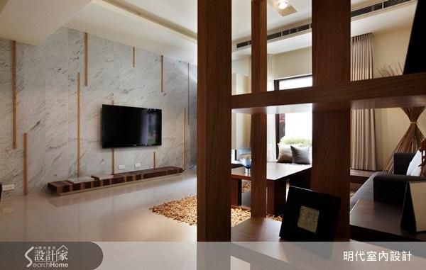 70坪新成屋(5年以下)_休閒風客廳案例圖片_明代室內裝修設計有限公司_明代_06之1