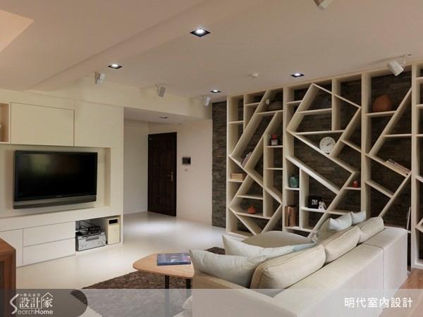 35坪新成屋(5年以下)_休閒風客廳案例圖片_明代室內裝修設計有限公司_明代_10之1
