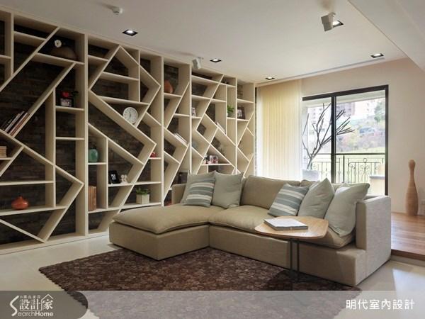 35坪新成屋(5年以下)_休閒風客廳案例圖片_明代室內裝修設計有限公司_明代_10之4