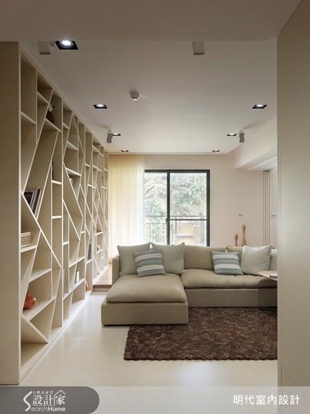 35坪新成屋(5年以下)_休閒風客廳案例圖片_明代室內裝修設計有限公司_明代_10之5