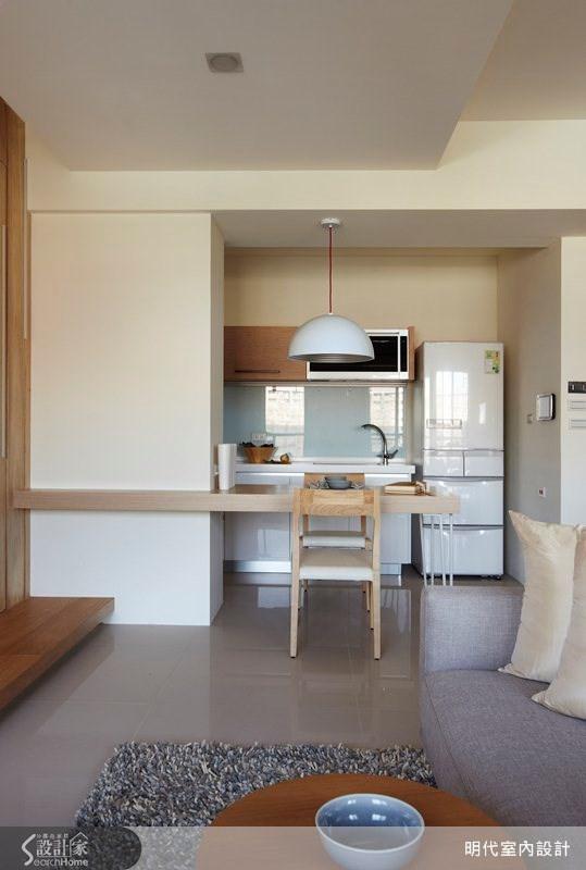 17坪預售屋_休閒風客廳案例圖片_明代室內裝修設計有限公司_明代_09之1