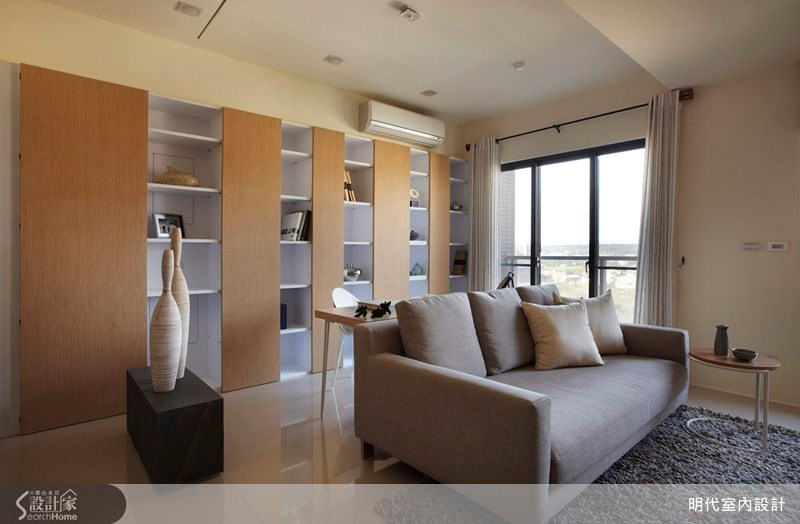 17坪預售屋_休閒風客廳案例圖片_明代室內裝修設計有限公司_明代_09之4